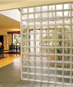 La Rochere - Architecture du verre - Briques de verre, Glass blocks, Glass Bricks : Paroi Cubiver