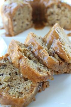 This apple pecan cake will get you in the mood for fall. The glaze on this cake oozes with caramel goodness. The scrumptious apple flavor, with delicious pecans mixed throughout, will definitely satisfy your taste buds!