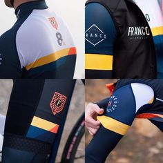 """The latest kit from @francobikes dropping."""