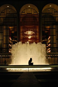 Lincoln Center- what a wonderful place to sing!!!