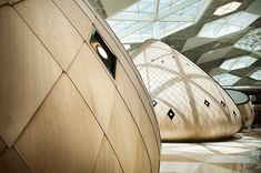 Autoban designs Heydar Aliyev International Airport Terminal in Baku | http://www.yellowtrace.com.au/scale-shingles/