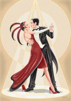 Darran Holmes - DH131 Deco Couple Dancing.jpg