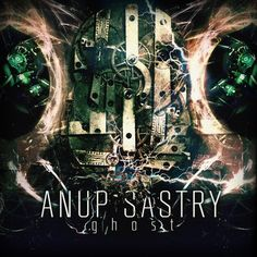 Ghost, by Anup Sastry Post Metal, Drum Kits, Album Covers, Christmas Ornaments, Holiday Decor, Bands, Music, Art, Musica
