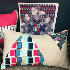 This is pillow heaven with Dare Fabrics! Pillow case tutorial soon! #PatBravoDesing #DareFabrics #Projects #Tutorial #FreeProject #FreeTutorial