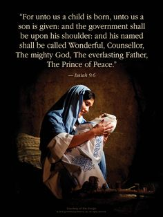 Scripture. Christ is the reason for the Christmas season!