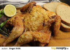 Grilované placaté kuře za milión dolarů recept - TopRecepty.cz Thing 1, French Toast, Chicken, Meat, Breakfast, Recipes, Food, Morning Coffee, Eten