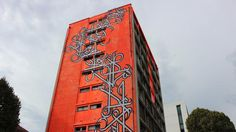 A social housing tower in Paris' 13th arrondissement has been converted into a temporary street art temple by 100 artists, creating the largest graffiti exhibition in the world.