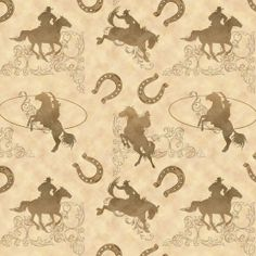 Novelty Quilt Fabric-Wild WestNovelty Quilt Fabric-Wild West,