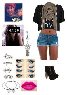 """""""A day with demi :D"""" by crazydirectioner-123 ❤ liked on Polyvore featuring NLY Trend, Comptoir Des Cotonniers, Boohoo, Lime Crime and Michael Kors"""