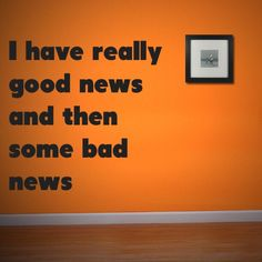 I have really good news and then some bad news http://www.theautismdad.com/2015/09/22/i-have-really-good-news-and-then-some-bad-news/  Please Like, Share and visit our Sponsors  #Autism #Family #SPD #SpecialNeedsParenting #Aspergers #Parenting #Sensory #ADHD #Awareness #AutsimAwareness #RobGorski #TheAutismDad #AutismDad #Divorce #SingleParenting #AutismParenting