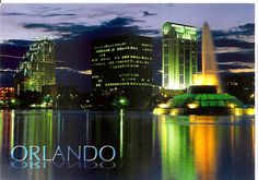 Orlando in green and yellow
