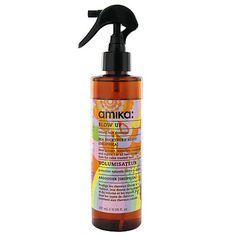 Natural heat protectant, volumizer, texturizer. Amika.