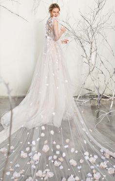 Wedding dress idea; Featured Dress: Mira Zwillinger