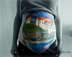 Belly Painting Sonia  #Bellypaint #bodypaint #art #arte #pintura