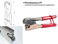Plombownica P7 (zaciskarka do plomb ołowianych i plastikowych) #plombownica, #plomby_do_plombownic, #plombownice