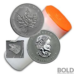 2016 Silver 1 oz Canada Maple Leaf Grizzly Bear Privy Reverse Proof (25 Coins)  Price : $586.76  Ends on : 3 weeks Order Now