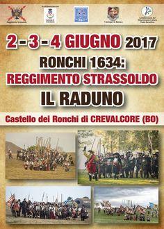 RONCHI 1634 : REGGIMENTO STRASSOLDO IL RADUNO (02 Giugno 2017)