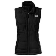 The North Face Women's Roamer Vest ($99) ❤ liked on Polyvore featuring outerwear, vests, black, the north face vest, black waistcoat, faux vest, the north face and vest waistcoat
