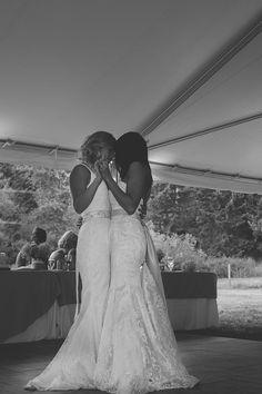 Melissa & Amanda Wedding, August 23rd 2014 Photographed by Feature Photography Glenora, British Columbia, Canada Lesbian Wedding Photos Same-sex wedding LGBT Wedding Same Love Dress & Dress Femme Lesbian Wedding