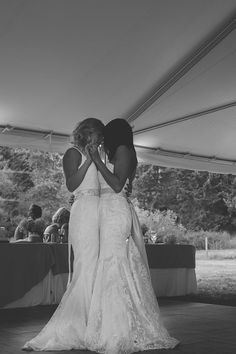 Melissa & Amanda Wedding, August 23rd 2014 Photographed by Feature Photography Glenora, British Columbia, Canada   Lesbian Wedding Photos Same-sex wedding LGBT Wedding Same Love  Dress & Dress Femme Lesbian Wedding                                                                                                                                                                                 More