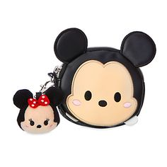 Mickey Mouse ''Tsum Tsum'' Coin Purse with Minnie Plush Charm | Disney Store