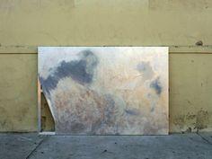 "Lisa Solberg, White Hotspray paint, oil, acrylic67"" x 99""/170 cm x 251 cm2013"