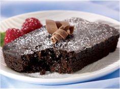 Nuntrisystem chocolate cake