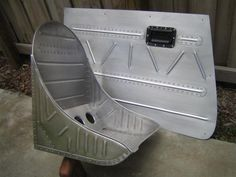 bomber style door panel and seat.