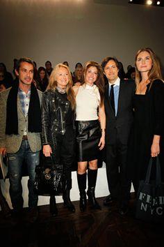 Andrew Lauren, Ricky Lauren, Dylan Lauren, David Lauren, and Lauren Bush-Lauren at Ralph Lauren