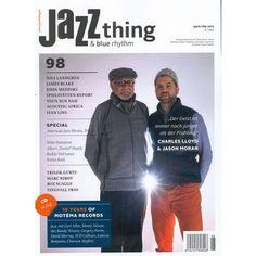 Jazz thing Heft 98 - das #Magazin für #Jazz und #Blues - mit CD im Heft!  Überall, wo es gute #Zeitschriften gibt oder direkt hier bestellen!