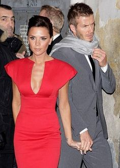 Que mejor accesorio que David a su lado?  Best accesorie she could carry... David by her side...