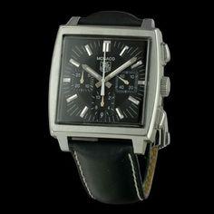 TAG HEUER - Monaco Chronographe, cresus montres de luxe d'occasion, http://www.cresus.fr/montres/montre-occasion-tag_heuer-monaco_chronographe,r2,p24942.html