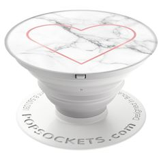 POPSOCKET WITH MARBLE TEXTURE & A HEART SIGN. Perfect gift for a girlfriend, am I right boys? ;) But seriously really cool design... You can buy it from Amazon.