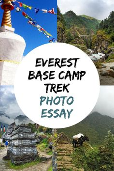 See and Experience what it's like to trek to Everest Base Camp in Nepal!