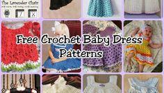 10 Free Crochet Baby Dress Patterns