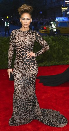 Best Dressed at the 2013 Met Gala – Jennifer Lopez in Michael Kors