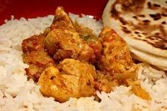 Tandori csirke curry