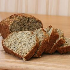 Try this delicious porridge bread recipe. Perfect for breakfasts or a healthier lunch. This fool proof recipe is so easy to make! Banana Bread Coconut Oil, Banana Bread French Toast, Zucchini Banana Bread, Healthy Banana Bread, Banana Bread Recipes, Breakfast Bread Recipes, Healthy Dessert Recipes, Unislim Recipes, Healthy Sweets