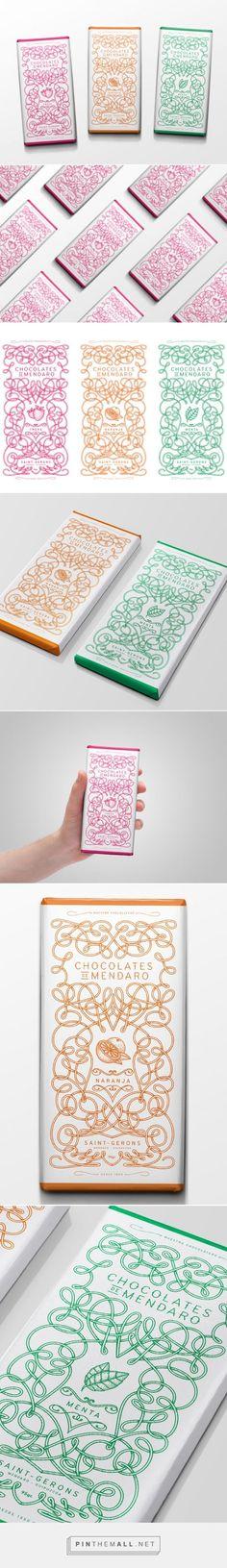 Chocolates De Mendaro #packaging #chocolate