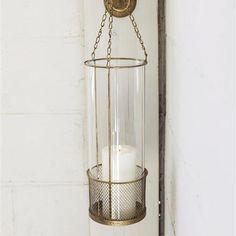 Innkeeper Hanging Wall Lantern | dotandbo.com  This is $42 dollars - what!?