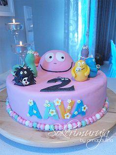 Barbapapa Cake by Sokerimuruja
