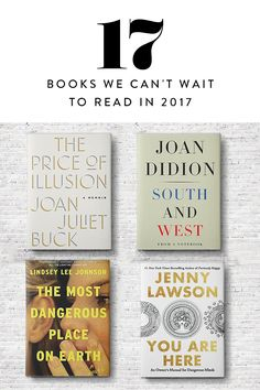 17 Books We Can't Wait to Read in 2017   via @PureWow via @PureWow
