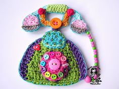 Crochet telephone