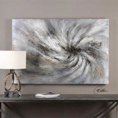 Infuse your room with the visually stimulating Uttermost Vortex Wall Art. Ready to hang, this one-of-a-kind, hand painted canvas lends warmth and a vibrant energy to your space with its fascinating modern design. Contemporary Abstract Art, Modern Wall Art, Hand Painted Canvas, Canvas Wall Art, Modern Art Movements, Abstract Photography, Nature Photography, Painting Techniques, Art Paintings