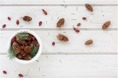 Winter berries and pine cones Christmas Berries, Winter Berries, Find Your Friends, Your Favorite, November, Old Things, Pine Cones, Photography, November Born