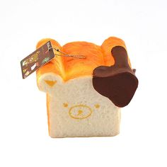 2016 New 11CM Jumbo Squishy Rilakkuma Air Bubble Squishy Chocolate Toast Phone Straps Toy Gift Collectibles With Tag #>=#>=#>=#>=#> Click on the pin to check out discount price, color, size, shipping, etc. Save and like it!