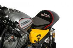 Harley Cafe Racer by Shaw Speed & Custom – BikeBound Harley Davidson Scrambler, Cafe Racer Motorcycle, Car Insurance Rates, Classic Car Insurance, Cafe Racer Style, Cafe Racer Bikes, Custom Harleys, Custom Bikes, Bike Engine