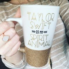 Taylor Swift Is My Spirit Animal Tall Mug
