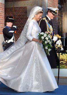 royals-and-quotes:  Queen Maxima in Valentino