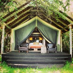Home sweet (temporary) home. This is how I want to stay in Kenya before my safari - whenever that is!
